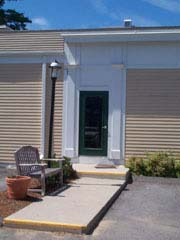 Store entrance; Size=180 pixels wide